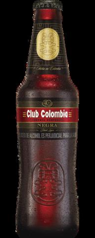 Botella 330 centímetros cúbicos retornable Club Colombia Negra