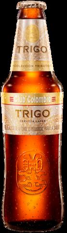 Botella retornable 330 centímetros cúbicos de Club Colombia Trigo