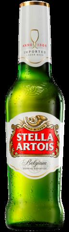 Botella no retornable de Stella Artois