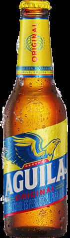 Botella retornable de Aguila Original 330 CC