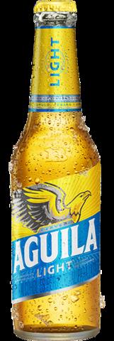 Botella retornable de Aguila Light 330 centímetros cúbicos
